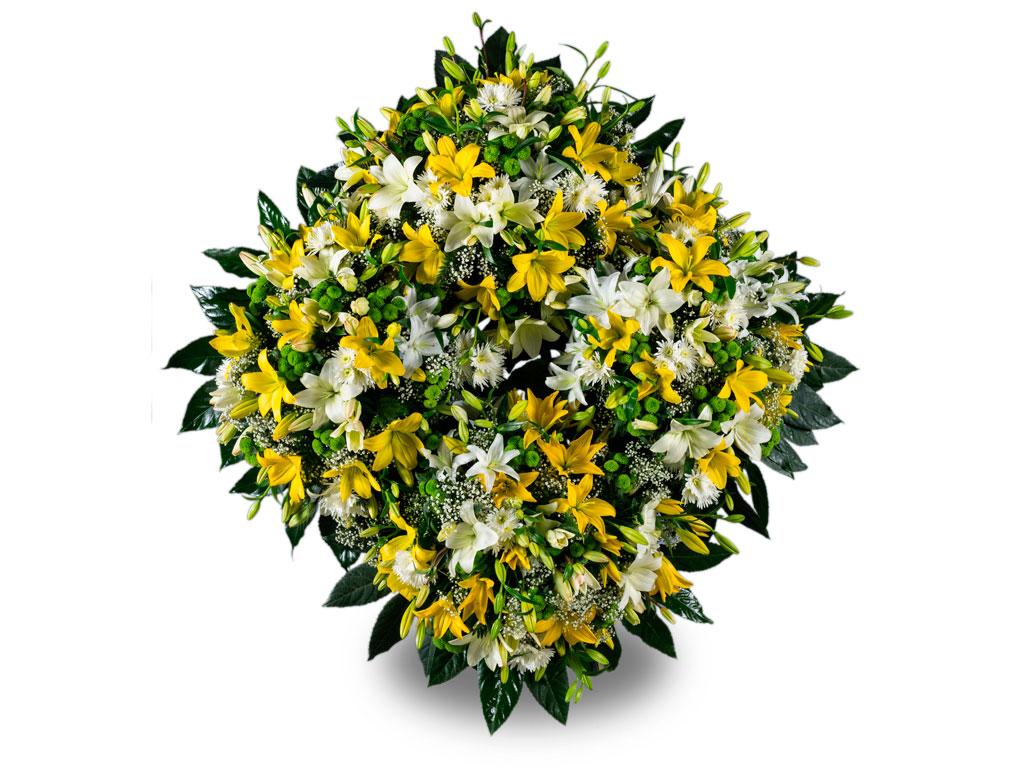Corona de Flores 03
